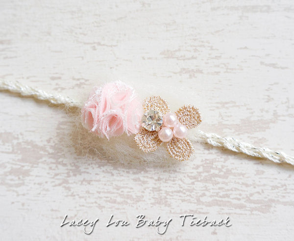 Lacey Lou Baby Tieback