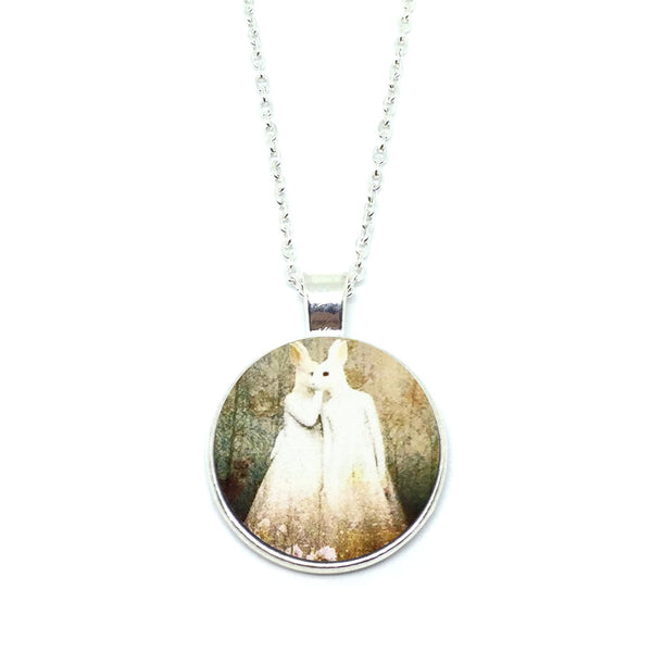 Mythical Rabbitgirls Whispering Necklace