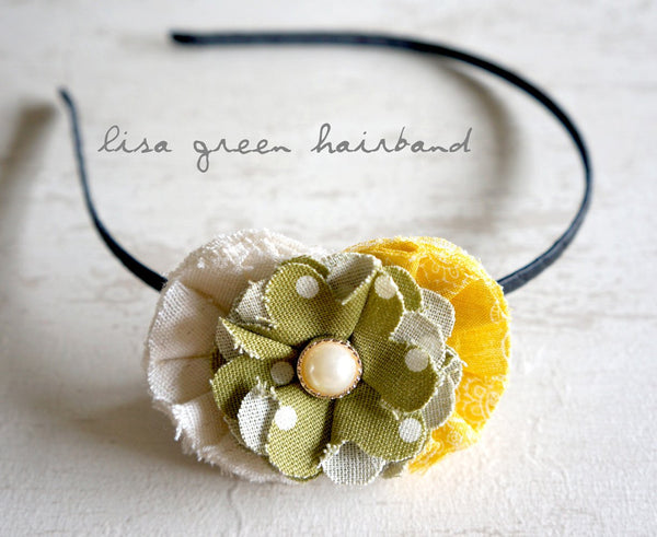 Lisa Green Handmade Hairband