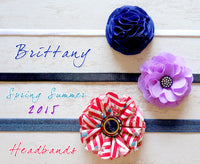 Brittany 2015 Baby Headband by Paperdaise