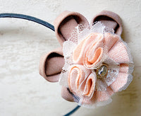 ilona Peach Hairband