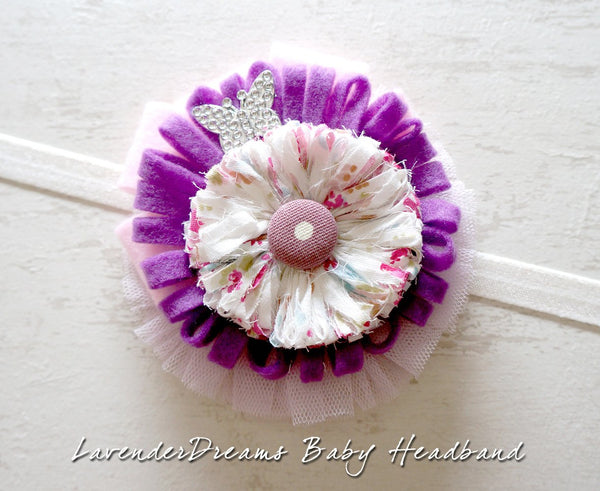 LavenderDreams Baby Headband