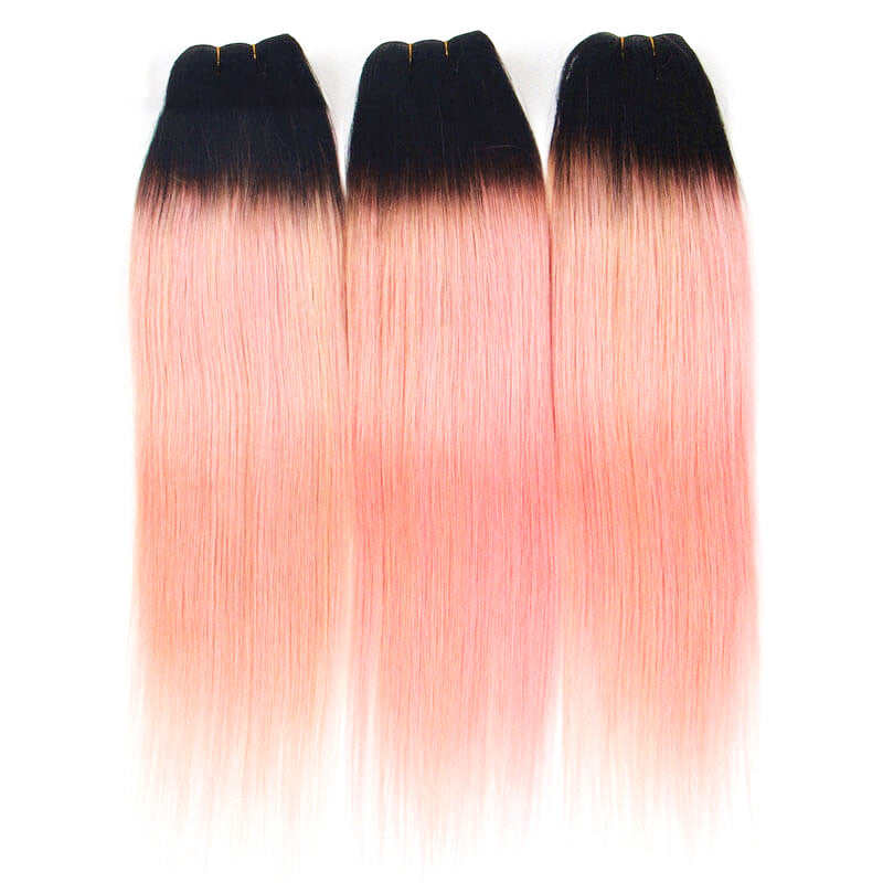 Weave extensions human hair