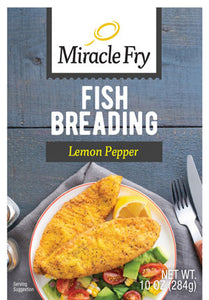 Miracle Fry Lemon Pepper Fish Breading