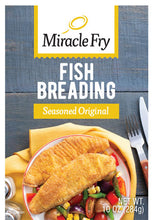 Load image into Gallery viewer, Miracle Fry Seasoned Original Fish Breading