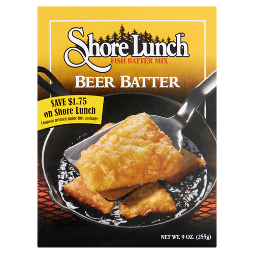 Shore Lunch Beer Batter Mix