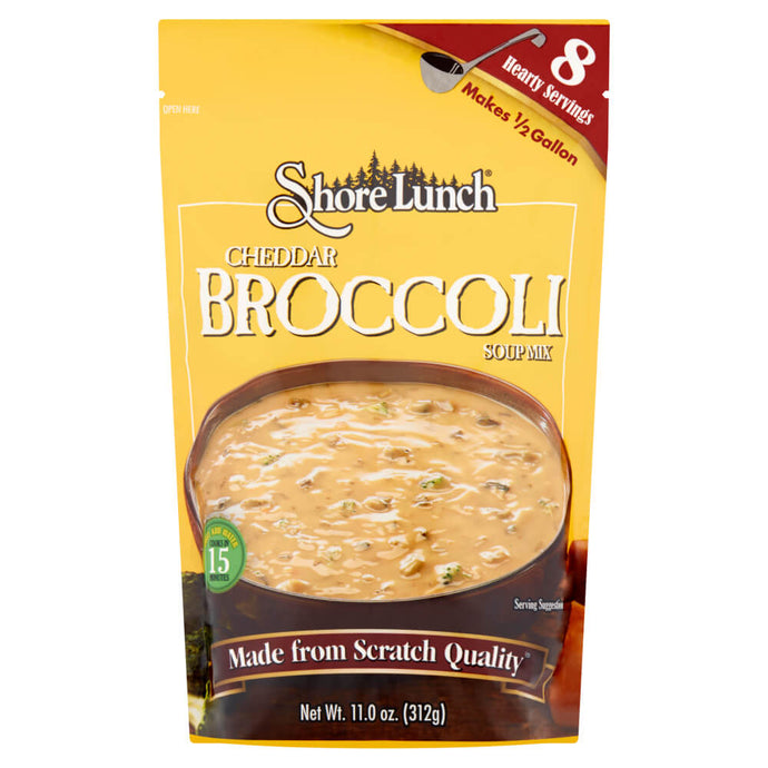 Shore Lunch Cheddar Broccoli Soup Mix