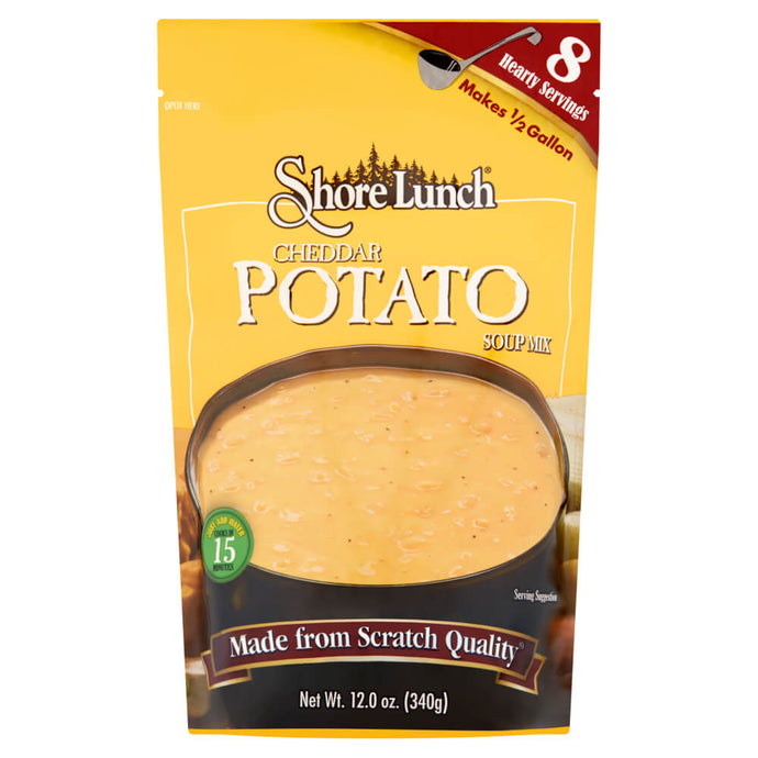 Shore Lunch Cheddar Potato Soup Mix