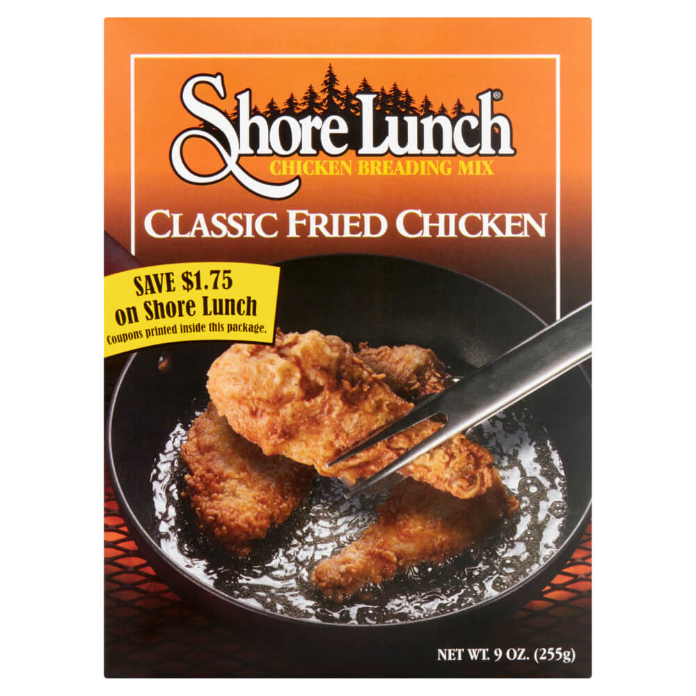 Shore Lunch Classic Fried Chicken Breading