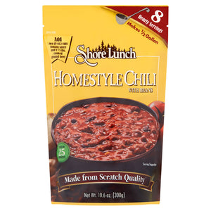 Shore Lunch Homestyle Chili with Beans Mix