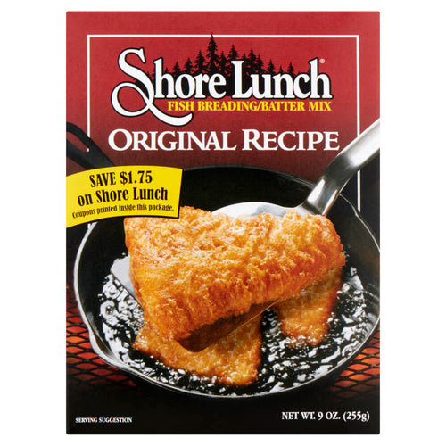 Shore Lunch Original Recipe Breading