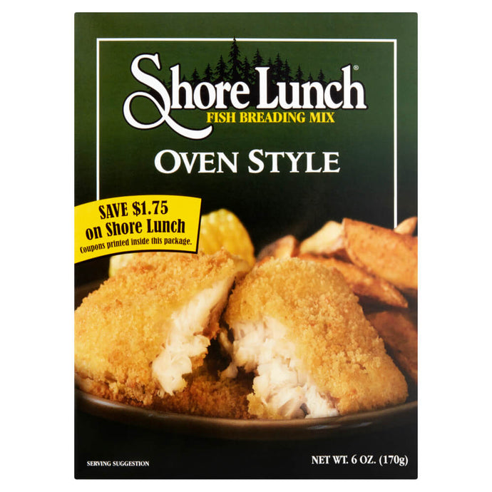 Shore Lunch Oven Style Breading