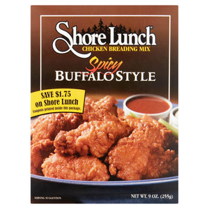 Shore Lunch Spicy Buffalo Style Wing Breading