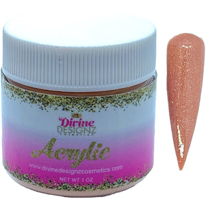 Butterscotch - Nude Beige Colored Acrylic for Ombré nails- Acrylic Powder - 1 oz