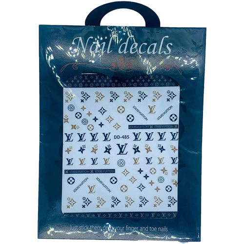 lv nail stickers