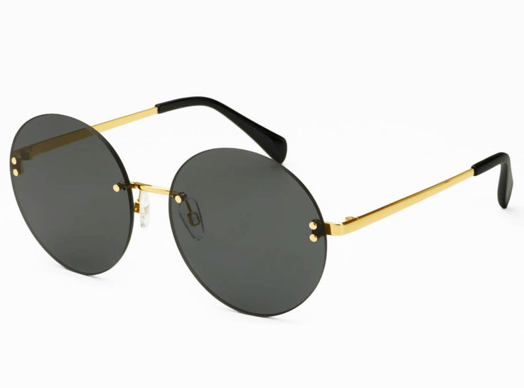 Lisa Gold/Gray Sunglasses