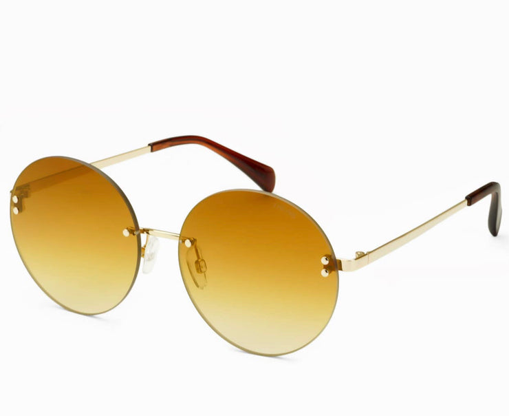 Lisa Gold/Gold Sunglasses