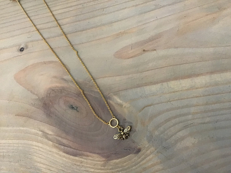 Bumble Bee necklace - Stella and Grace