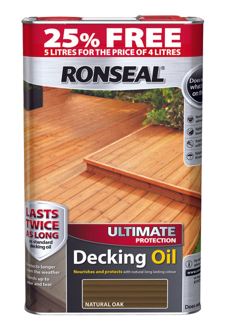 Ronseal Decking Oil 4 Litre