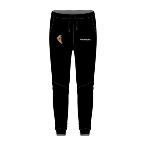 Tamworth Basketball Black Tapered Track Pants