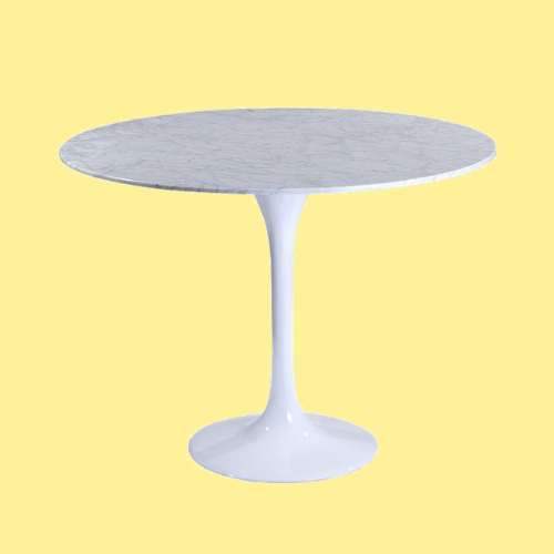 Mid Century Modern Tulip Dining Table by Eero Saarinen