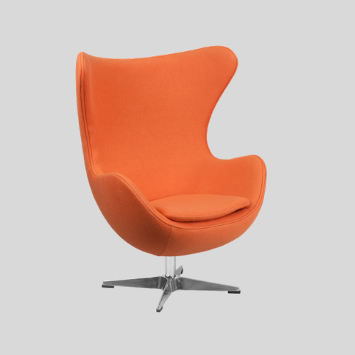 Mid Century Modern Egg Chair Lounge Chair By Arne Jacobsen
