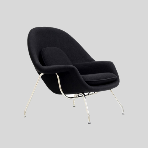 Mid Century Modern Womb Lounge Chair By Eero Saarinen