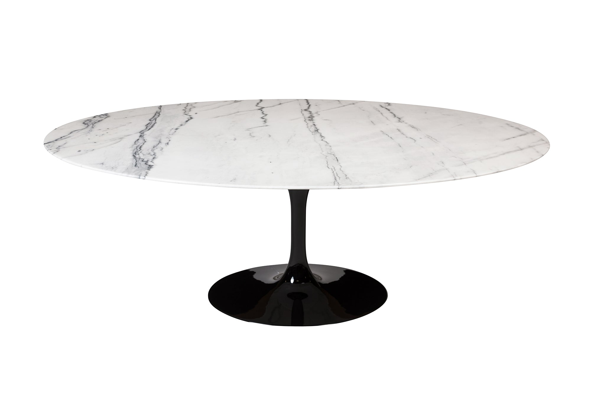 Saarinen oval marble table