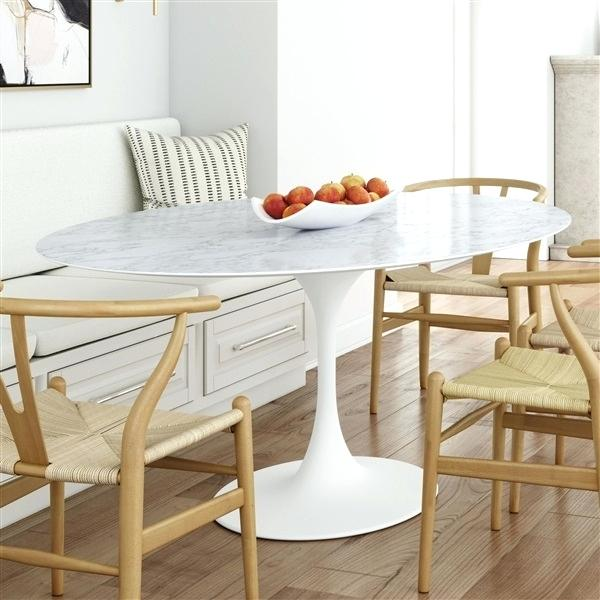 Mid Century and Modern saarinen tulip table hans wegner wishbone chairs dining room furniture