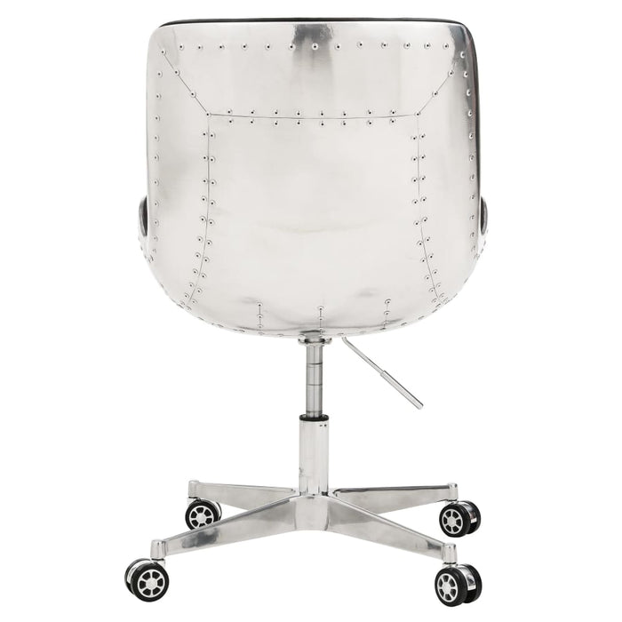 Abner Swivel Office Chair-Distressed Java