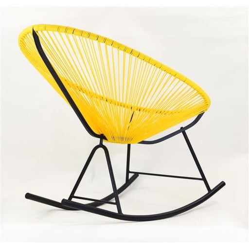 Acapulco Rocking Chair, Yellow