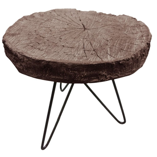 Alva Slab End Table-Natural