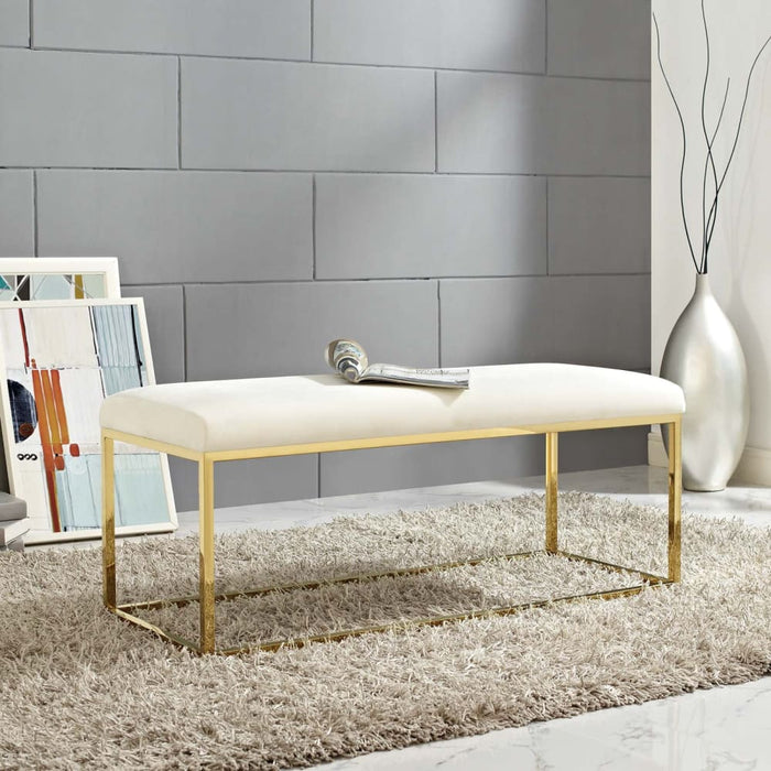 ANTICIPATE FABRIC BENCH