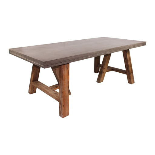 Barn Concrete Farmhouse Dining Table