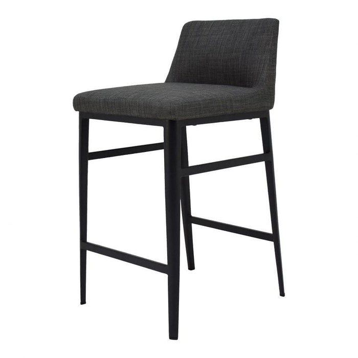 BARON COUNTER STOOL CHARCOAL