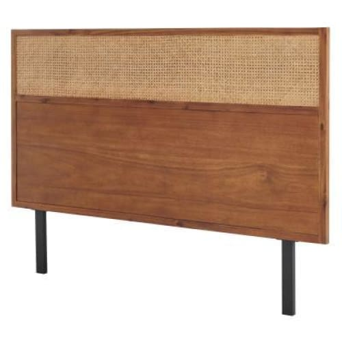 Caine Rattan Queen Headboard Brown