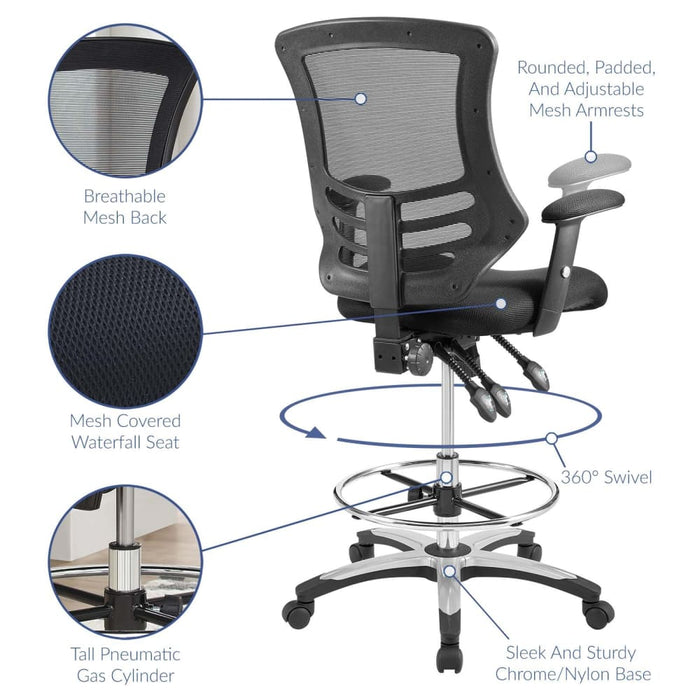 CALIBRATE MESH DRAFTING CHAIR