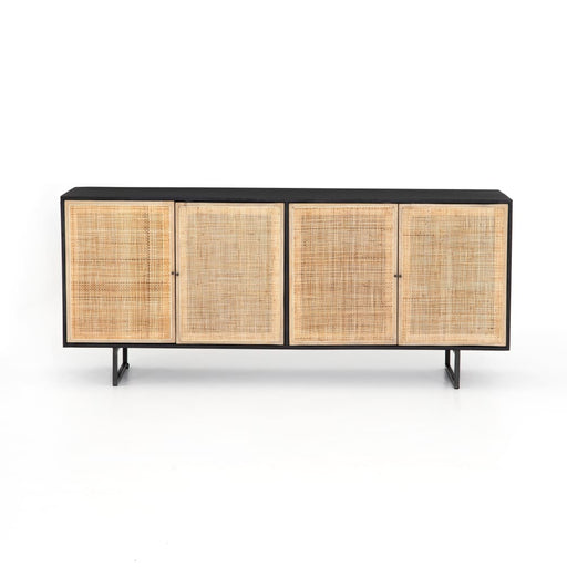 Carmella Sideboard Black Wash