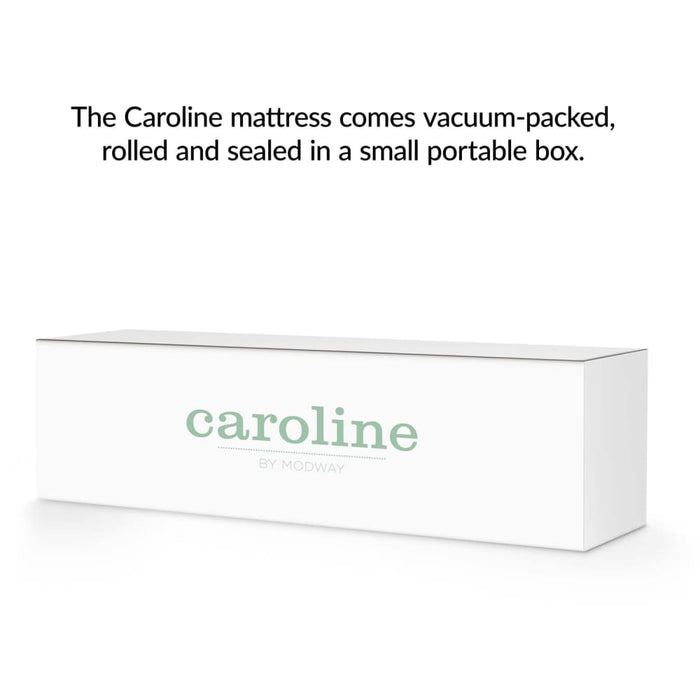CAROLINE 10 TWIN MEMORY FOAM MATTRESS