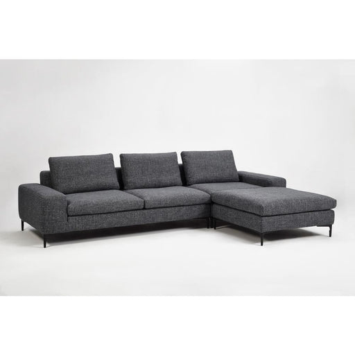 Cassini Modular Sectional Sofa Gray Fabric