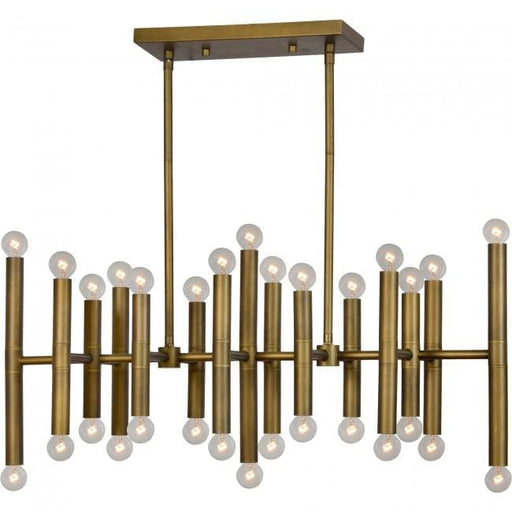 Chad Ceiling Fixture Antique Brass Iron
