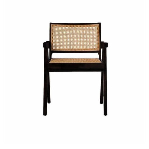 Chandigarh Arm Chair Black