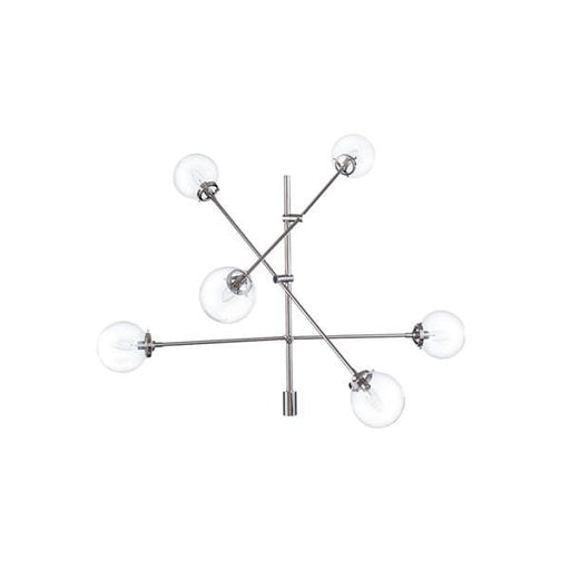 Clebo Modern Ceiling Light Silver