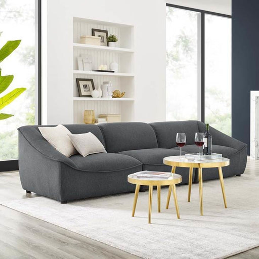 Command 3-Piece Sofa Charcoal