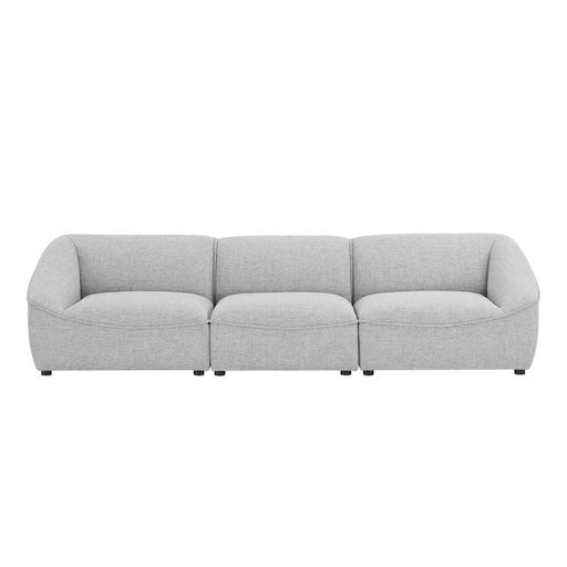 Command 3-Piece Sofa Light Gray