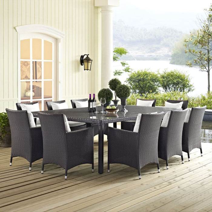 CONVENE 90 OUTDOOR PATIO DINING TABLE