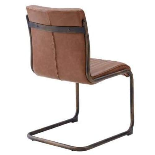 Cooper Chair Rubber Gold Frame Antique Cigar
