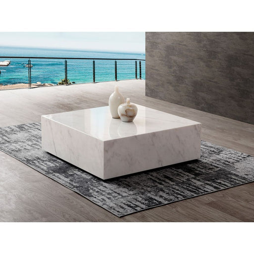 Couture Marble Coffee Table White