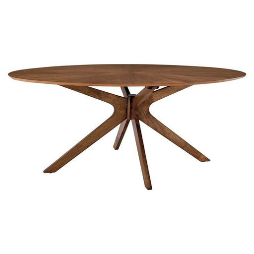 Crosslands 71 Oval Wood Dining Table