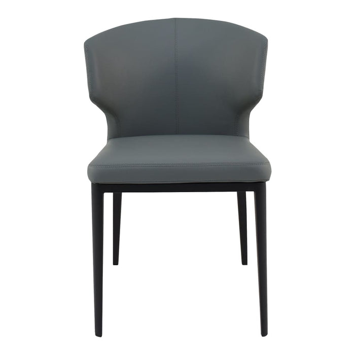 DELANEY SIDE CHAIR GREY-SET OF TWO